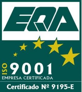 ISO9001 Color con nº